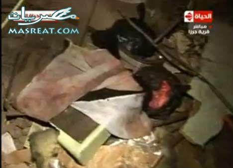 حطام من موقع حادث قطار العياط