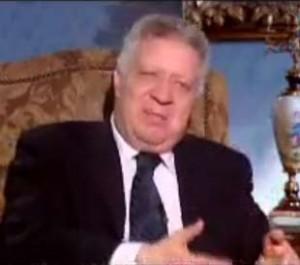 مرتضى منصور و سي دي لمياء ناصف