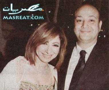 عمرو اديب وزوجته لميس الحديدي