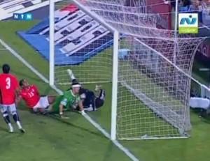 اهداف مباراة مصر والجزائر