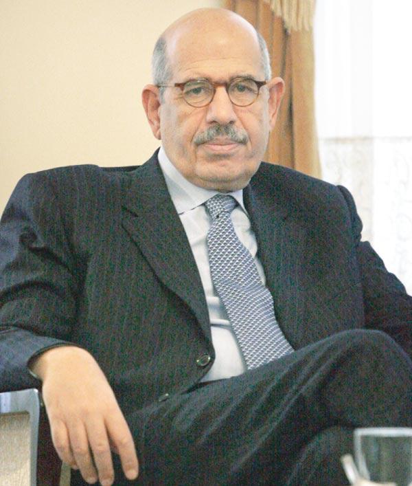 كتلة الأحزاب ترفض ترشيح محمد البرادعي للرئاسة