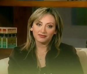 ريهام سعيد مذيعة قناة المحور