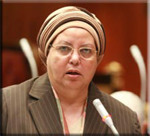 عائشة عبد الهادي وزيرة القوى العاملة والهجرة