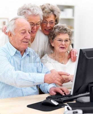 كمبيوتر للمسنين فقط