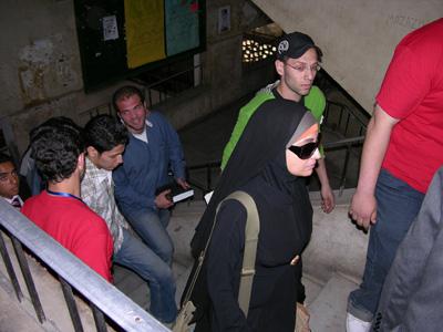 حملات توعية في جامعة حلوان و القاهرة و عين شمس
