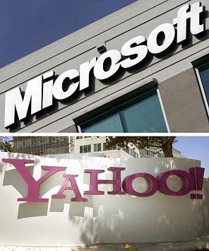 اتفاق شراكة بين مايكروسوفت وياهو في مجال محركات البحث