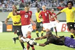 نتيجة مباراة مصر وغانا