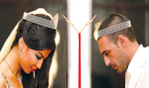 زواج دوللي شاهين