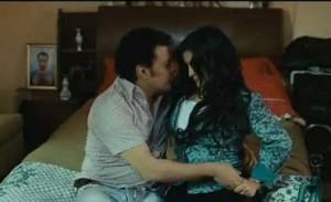 داليا ابراهيم مع عمرو عبد الجليل - فيلم كلمني شكرا