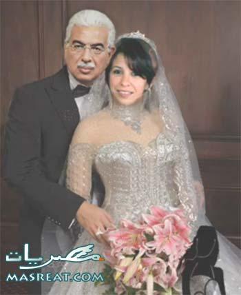 احمد نظيف وعروسته زينب زكي