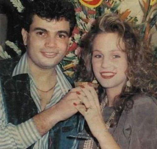 شيرين رضا مع عمرو دياب