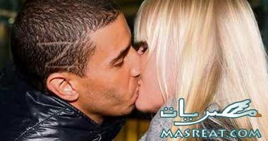 قبلة زيدان وصديقته