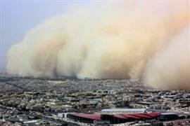 عاصفة بالاقصر تتسبب في حرق عشرات المنازل