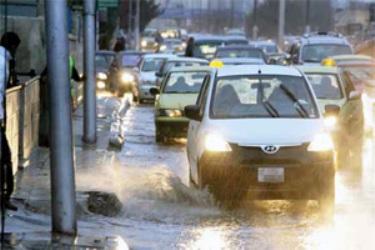 الاحوال الجوية فى مصر امطار وعواصف تستمر لـ 3 ايام