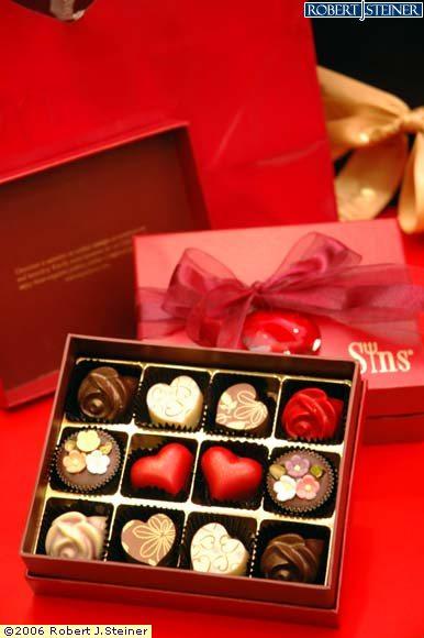 شوكلاتة عيد الحب