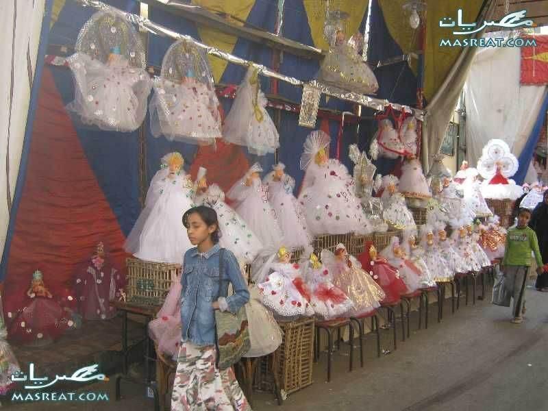 صور محل عروسة المولد في شادر خاص لموسم المولد النبوي