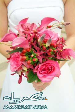 صورة بوكيه العروسة