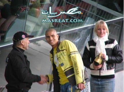 محمد زيدان وصديقته