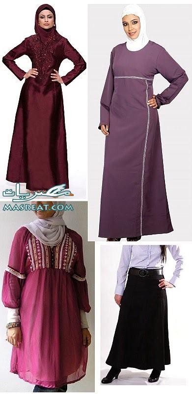 ملابس محجبات 2012