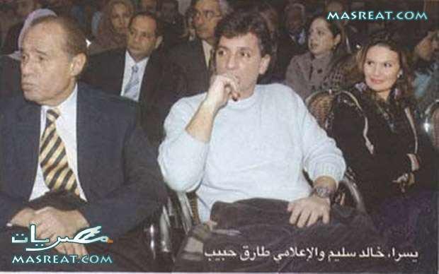 صور يسرا وزوجها خالد سليم
