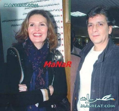 يسرا وزوجها خالد سليم