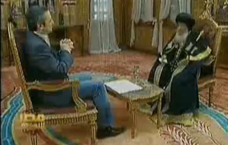 لقاء البابا شنودة في مصر النهاردة