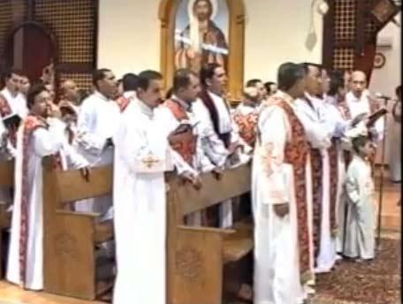 مشاهدة قداس عيد القيامة 2011 البابا شنودة