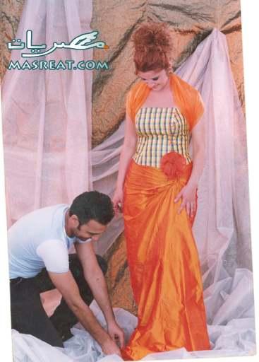 فستان غادة عادل اسوأ فساتين محمد داغر : انا ازاي عملت كده