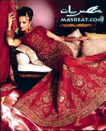 فساتين زفاف 2012 ستايل هندي