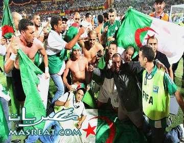 مباراة الجزائر وسلوفينيا اليوم في كأس العالم  2010 ورحلة البحث عن الذات