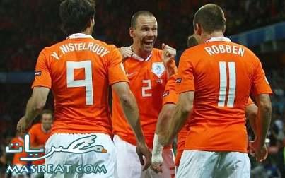 اهداف مباراة هولندا و اوروجواي .. شنايدر ، ديريك كويت روبن بمواجهة فورلان مع بيريرا