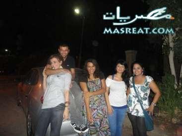 صور عماد متعب مع ملكة جمال مصر يارا نعوم
