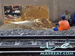 هبوط و انهيار ارضي في مترو المعادي خط حلوان و المرج