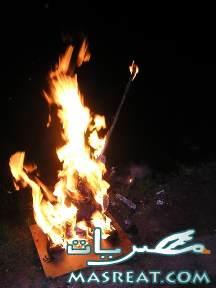 طالب الاعدادي بمشتول السوق احرق زميله بالنار