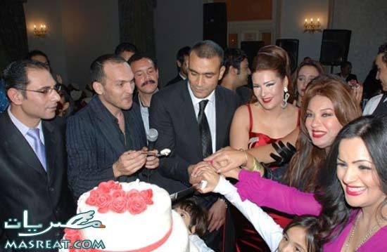 حفلة عيد ميلاد زوجة الحضري