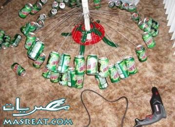 بالصور تزيين شجرة الكريسماس