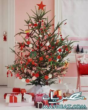 تزيين شجرة عيد الميلاد