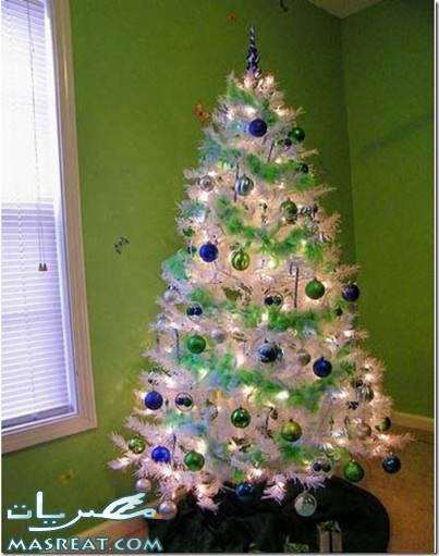 طريقة تزيين شجرة راس السنة