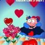 اجمل بطاقات تهنئة عيد الحب 2015 كروت فالنتاين فلاشية متحركة