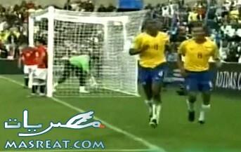 مشاهدة اهداف مباراة مصر والبرازيل كاملة في الدوحة