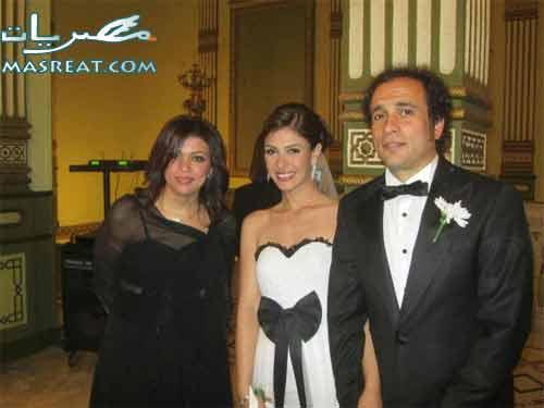 زفاف عمرو حمزاوي وبسمة اخر الصور