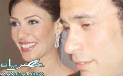 صور زواج عمرو حمزاوي بسمة