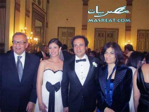 عمرو حمزاوي وبسمة