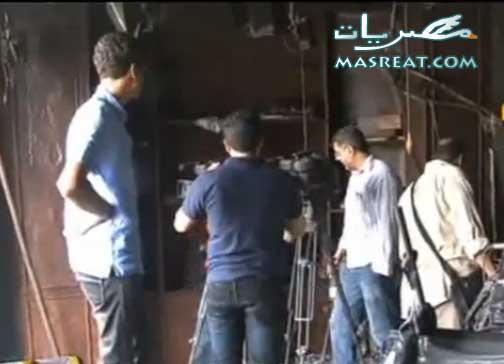 اخبار احداث محمد محمود اليوم: حرق مقر قناة الجزيرة مباشر مصر
