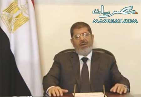 قرارات الرئيس محمد مرسي اليوم تجعله حاكماً بامر الله في مصر