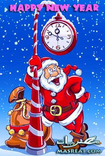 صور سانتا كلوز السنة الميلادية الجديدة