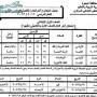 جدول امتحانات الصف الاول الابتدائي 2013 محافظة البحيرة