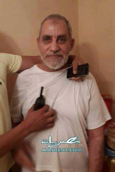 القاء القبض على مرشد الاخوان محمد بديع