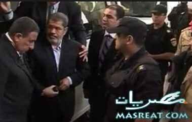 فيديو صور محاكمة مرسي