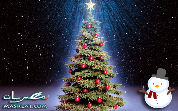 صور شجرة كريسماس راس السنة الميلادية